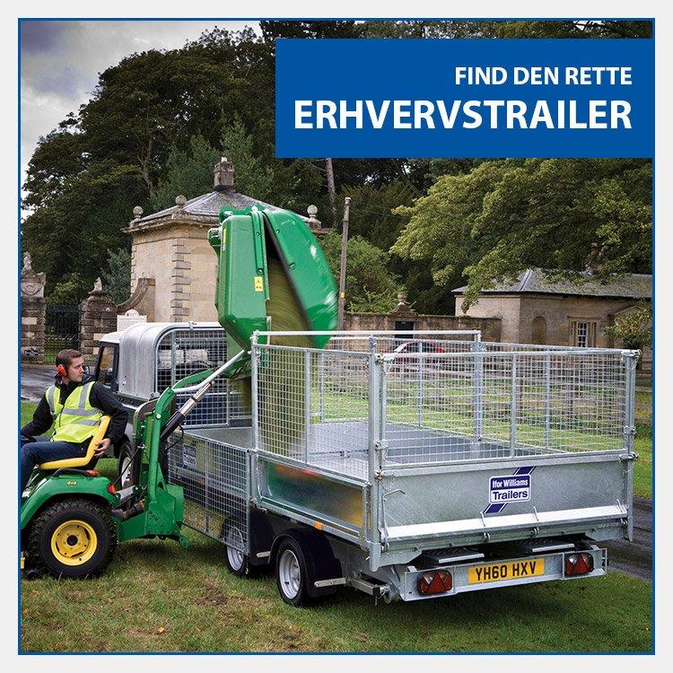 Køb ny erhvervstrailer hos Trailerbutikken i Holbæk