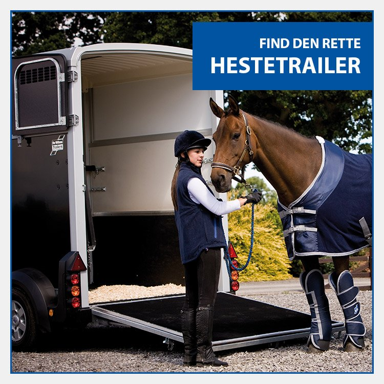Køb ny hestetrailer hos Trailerbutikken i Holbæk