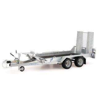 Ifor Williams GH94 maskintrailer med rampe