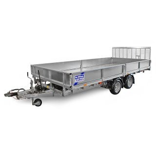 Ifor Williams Vippeladstrailer CT166 Manuel