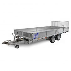 Ifor Williams Vippeladstrailer CT167 Manuel